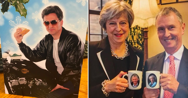 5 rubbish politicians' christmas cards and one rather