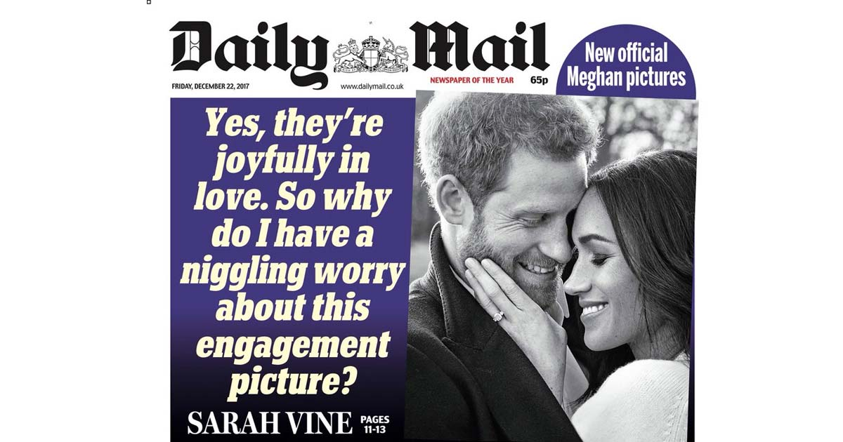 People are saying the Daily Mail are making a racist pun ...