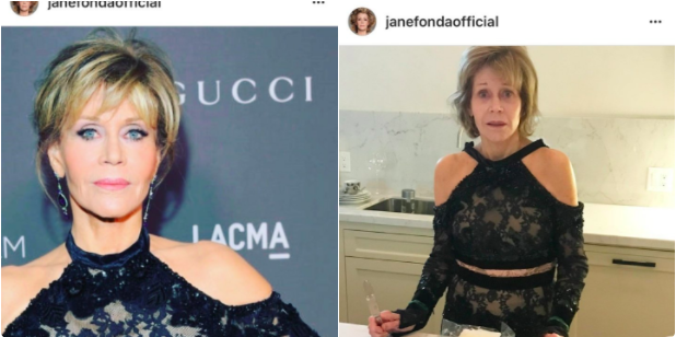Jane Fonda's before and after pics go viral because everyone can relate to them