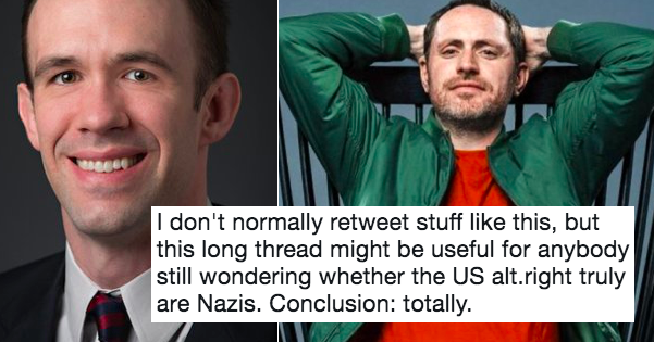 This takedown of an alt right mouthpiece went viral because it's very polite and totally devastating
