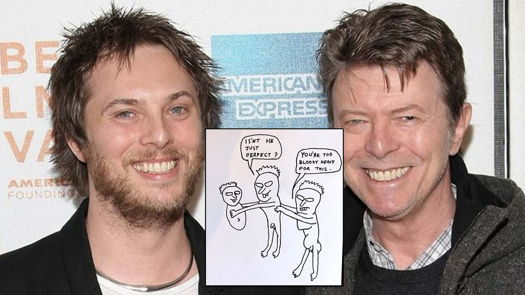The birthday card david bowies son drew for his father two days anniversary of david bowies death the 10th of january and his son film director duncan jones has taken the opportunity to post the birthday card he bookmarktalkfo Image collections