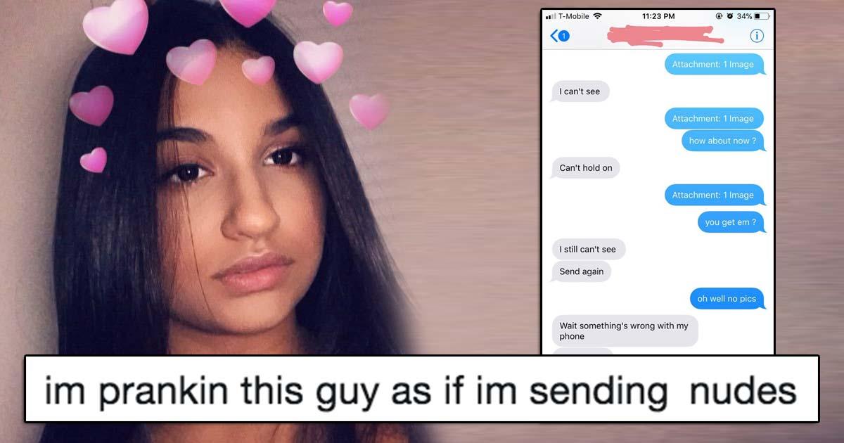 Women who send nudes