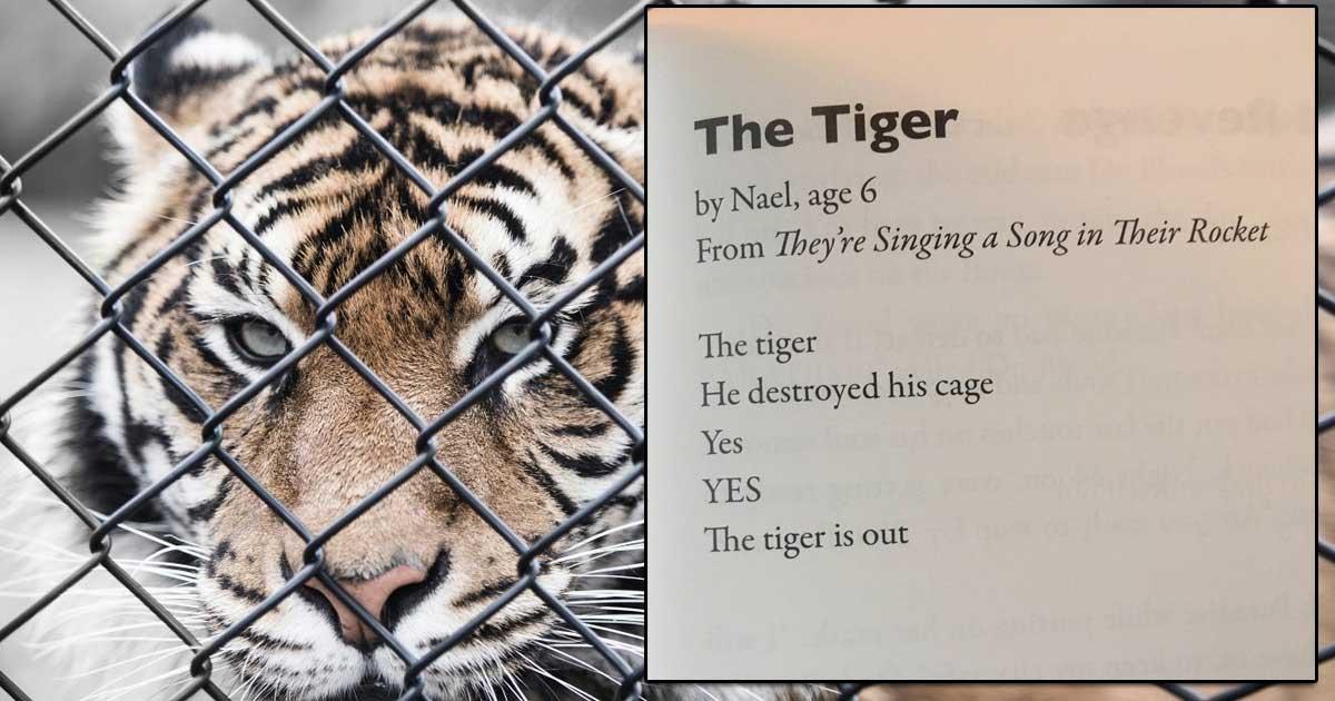 tiger tiger poem