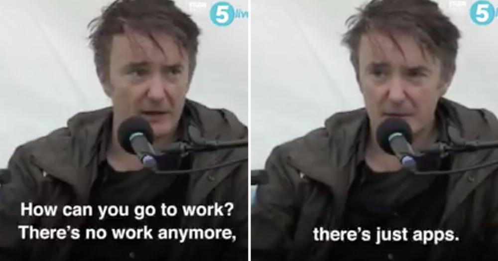 Dylan Moran nailing the state of the world right now will soothe your troubled soul