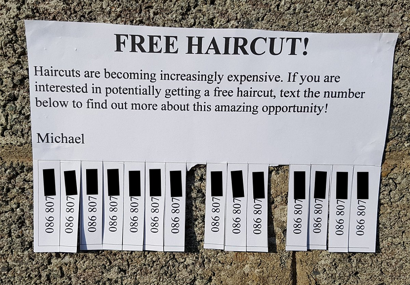 This Might Be The Most Ingenious Plan To Get A Free Haircut Of All