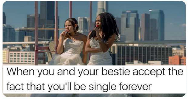 how to accept being single forever