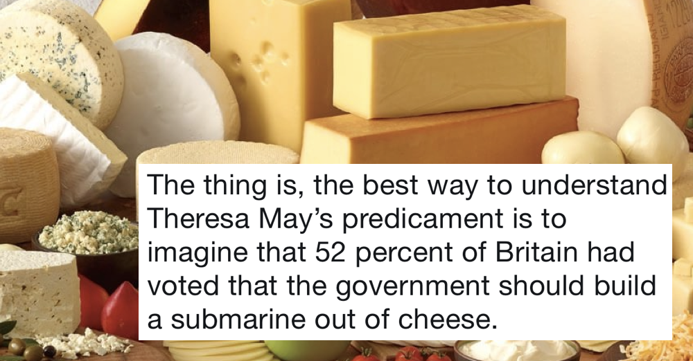 This Brexit analogy went viral because it's funny and totally nails