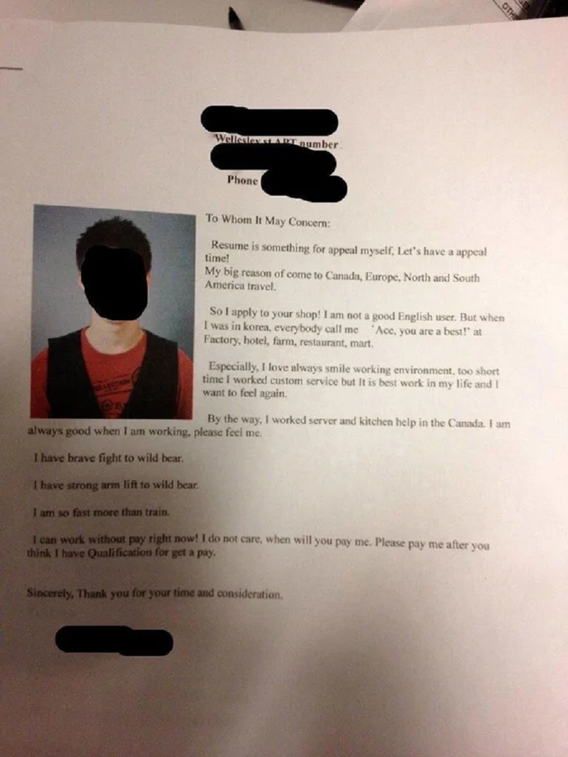 People can't believe this guy's CV - with good reason The Poke