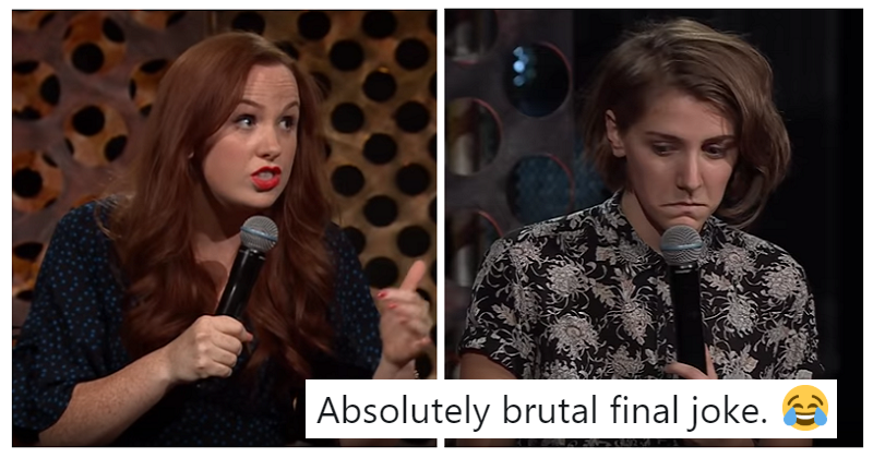 A couple did a comedy roast of each other and it took a heart-stopping turn