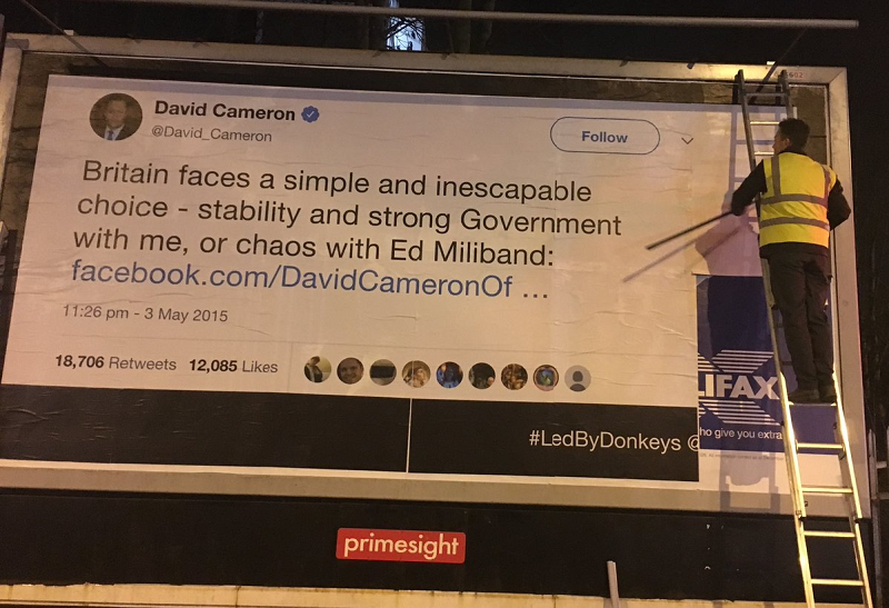 This poster campaign is expertly trolling politicians using their own words