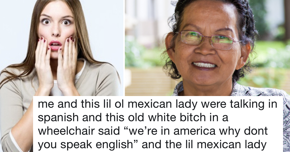 People are loving this woman's savage takedown of the racist who told her to speak English