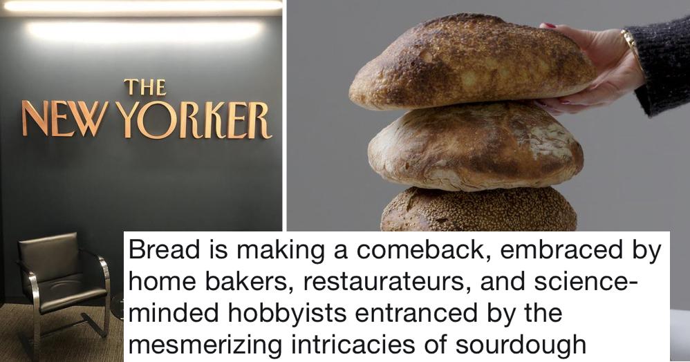 An American magazine said bread was 'making a comeback' - 11 delicious takedowns