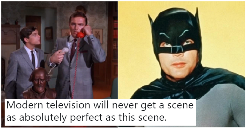 This scene from the 1960s Batman may be the perfect TV moment