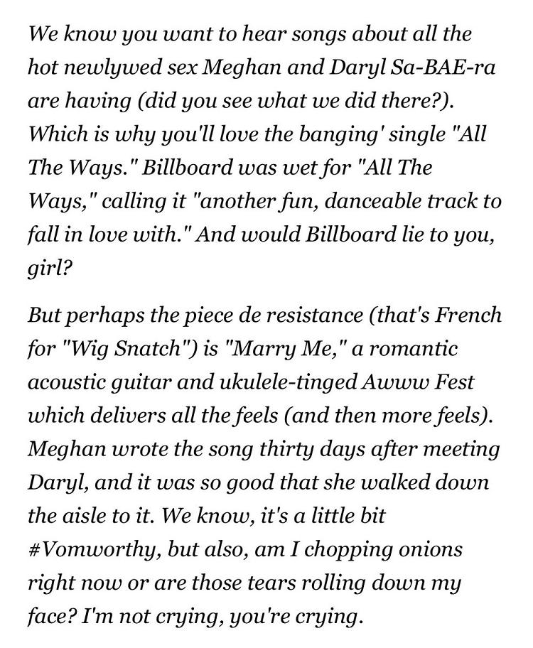 Meghan Trainor's press release went viral because it's so cringingly awful, it's brilliant