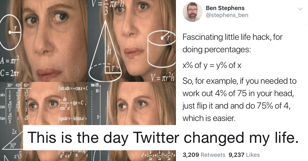 This maths hack taking the pain out of percentages is blowing people's minds