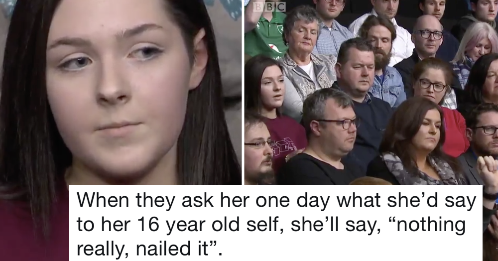 This 16 y/o on Question Time went viral because she nailed Brexit better than any politician