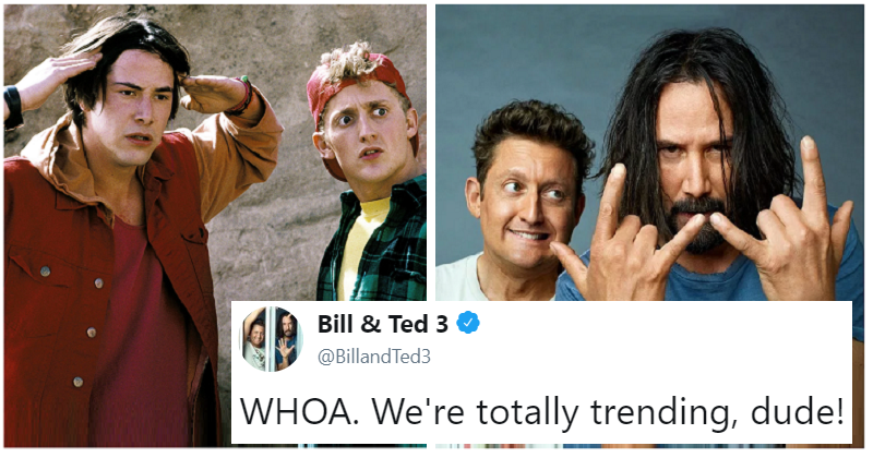 """""""Bill and Ted"""" thanking the fans is the most excellent thing you'll see today"""