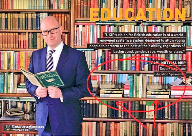 The internet brought Dominic Raab to book for posing with his reading matter - 15 funny reactions
