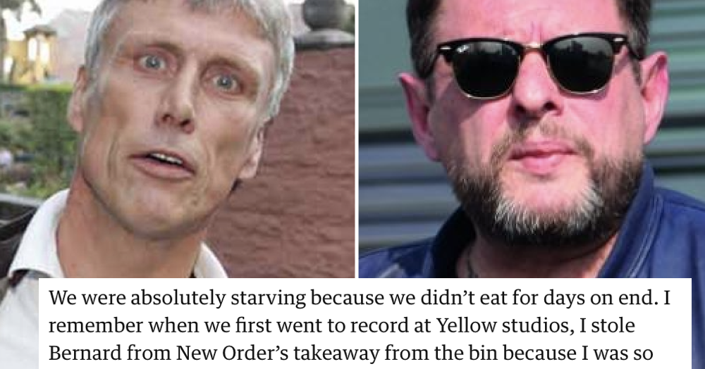 Bez and Shaun Ryder told the Guardian about being flatmates and it's the sitcom we never had