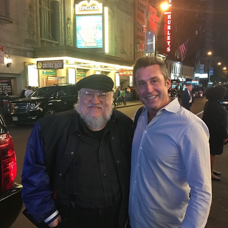 This incredible George R.R. Martin fan story will have you in tears