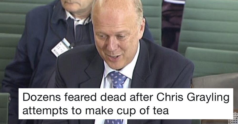 Favourite 13 things people are saying about Chris Grayling after his latest failing