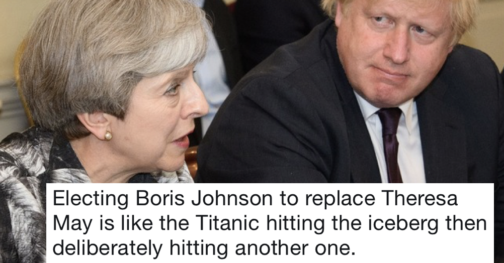 17 tweets that perfectly capture what the nation thinks of Boris Johnson as our next PM