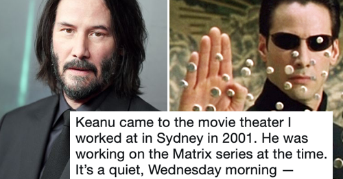 This guy's Keanu Reeves story is making people love him even more than they already did