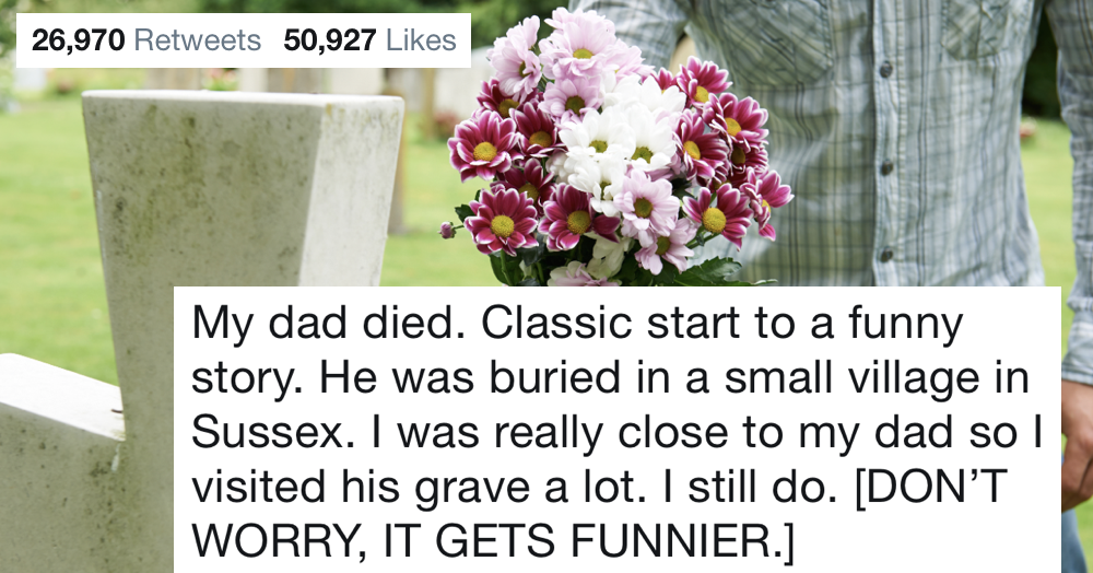 This brilliant thread went viral because it's the most extraordinary romance story you'll ever read