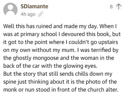 Guardian readers shared some great memories about the Ghosts book that scared them to death as kids