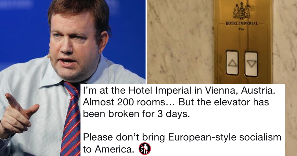 A Republican pollster tried his hand at satire and this comeback wins takedown of the week