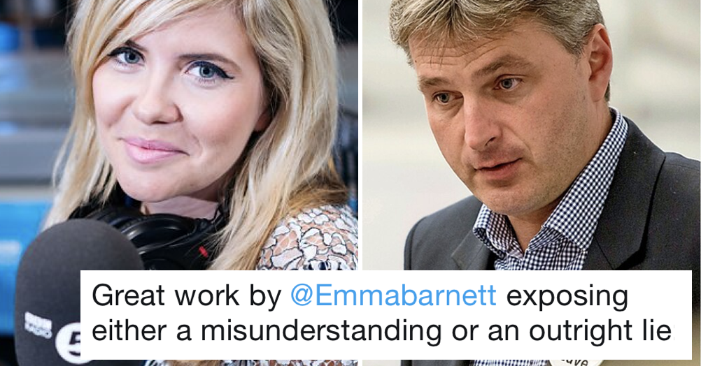 People love Emma Barnett taking down a Boris Johnson backer over facts (and not his private life)