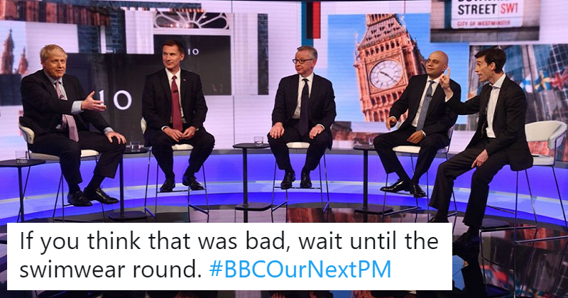 The 28 greatest reactions to the Tory leadership debate