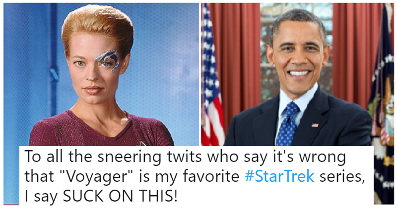 How a bad Star Trek series led to the Obama presidency is blowing people's minds