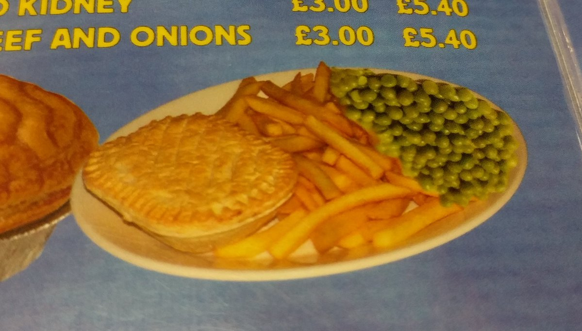 There's something about the peas in this picture that is really weirding people out