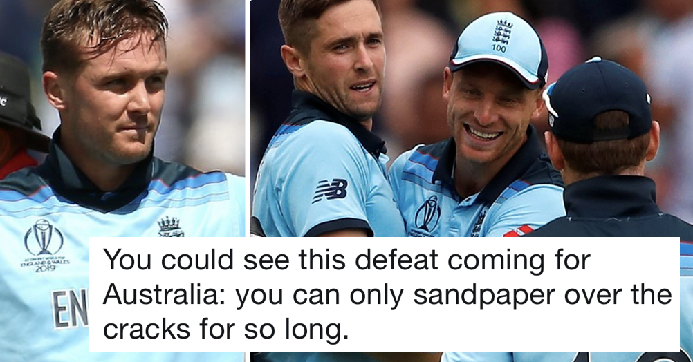Simply 6 very satisfying tweets after England's cricket World Cup win over Australia