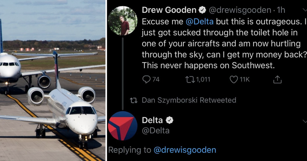 An airline took this guy's customer 'complaint' seriously and it just got better and better