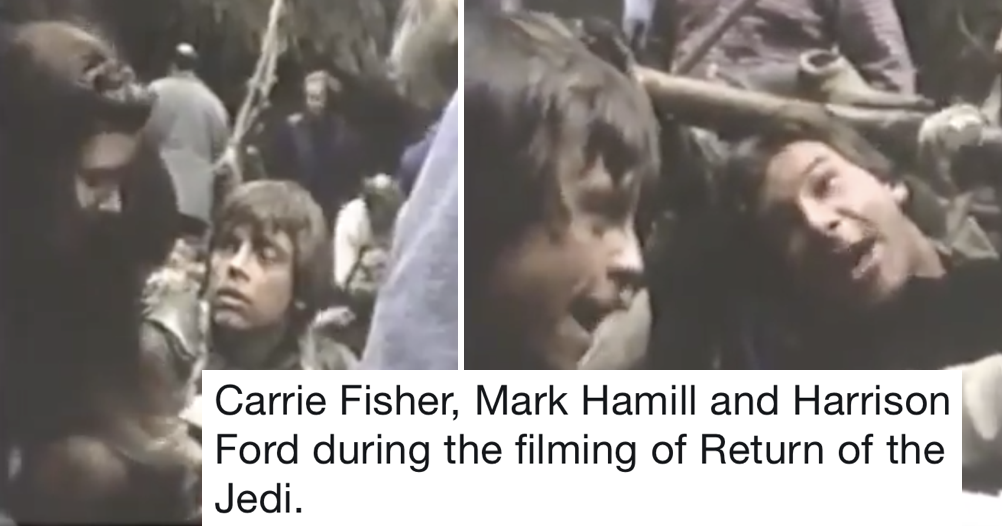 These 3 Star Wars legends knocking the Return of the Jedi Script into shape is very funny and a great insight into filmmaking