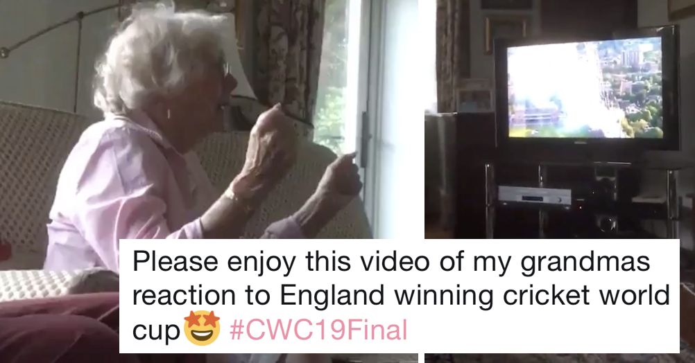This gran's reaction to England's World Cup win went viral because she spoke for a nation