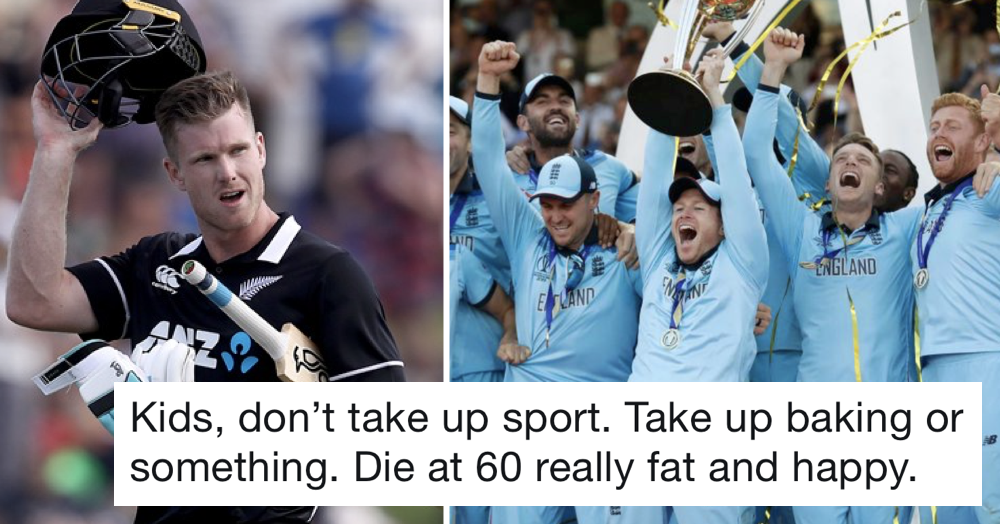 People love this Kiwi cricketer's tweet after their heart-breaking World Cup final defeat to England