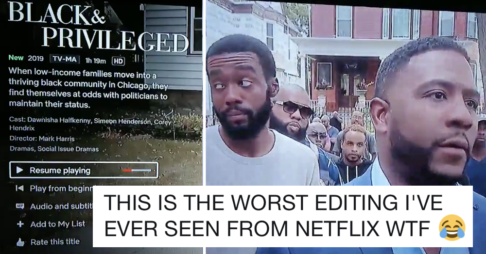This Netflix movie is so badly edited it might be the funniest thing you watch this week