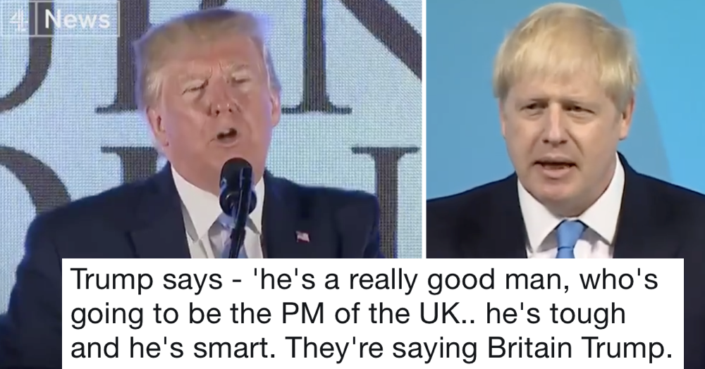 Donald Trump said Brits call Boris Johnson 'Britain Trump' – the only 5 replies you need