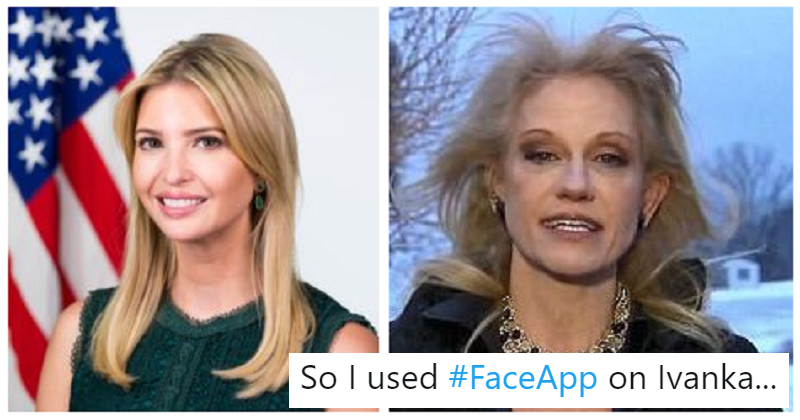 13 times people had a fine old time with FaceApp