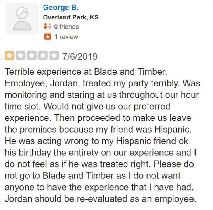 The owner of a small business had the perfect takedown of a fake review