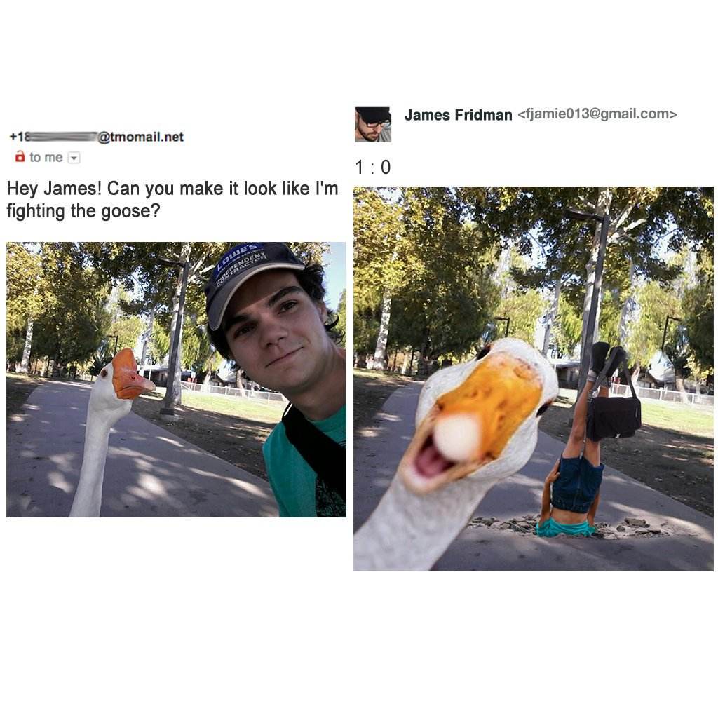 Photoshop guy takes people's requests very literally and he's a troll master