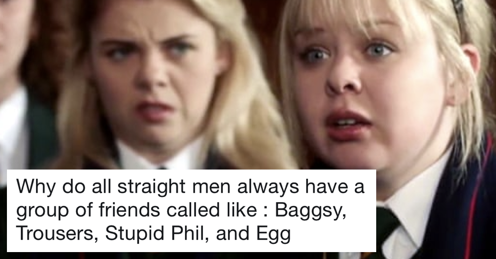 Just a brilliant thread of men's ridiculous nicknames (and how they got them) after Derry Girls' Nicola Coughlin said this
