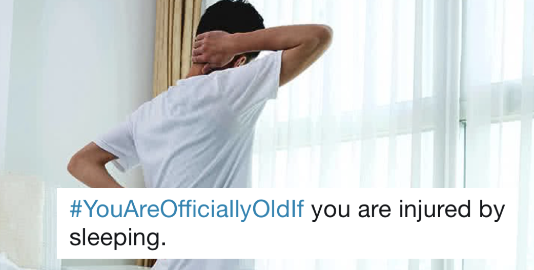 People are sharing things you do that make you official old – 19 favourites