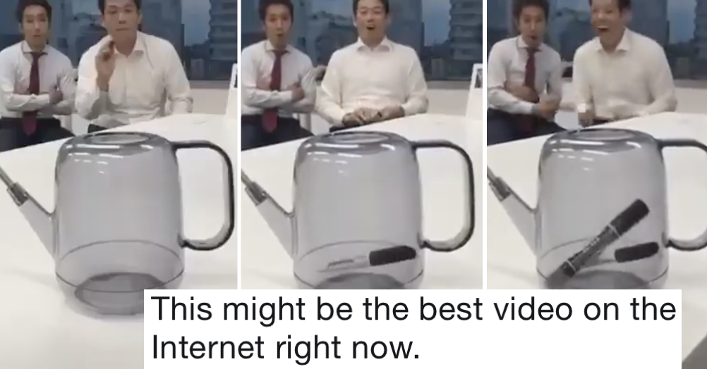 The unexpected plot twist at the end of this guy's office challenge is 10/10