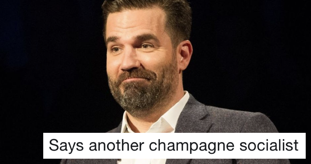 Rob Delaney wins comeback of the week