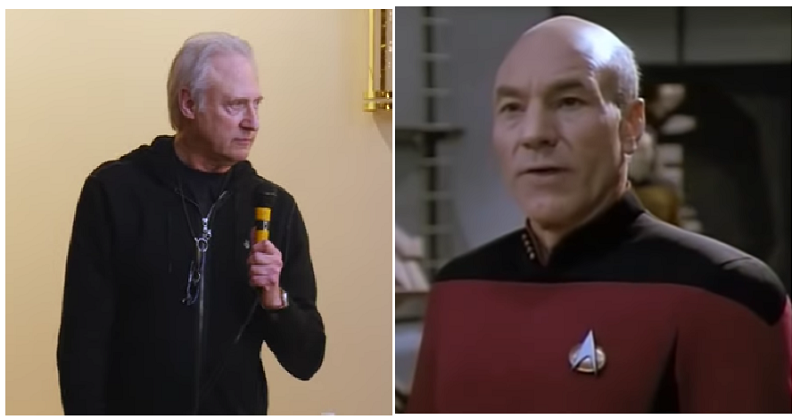 Brent Spiner's Patrick Stewart impression is out of this world