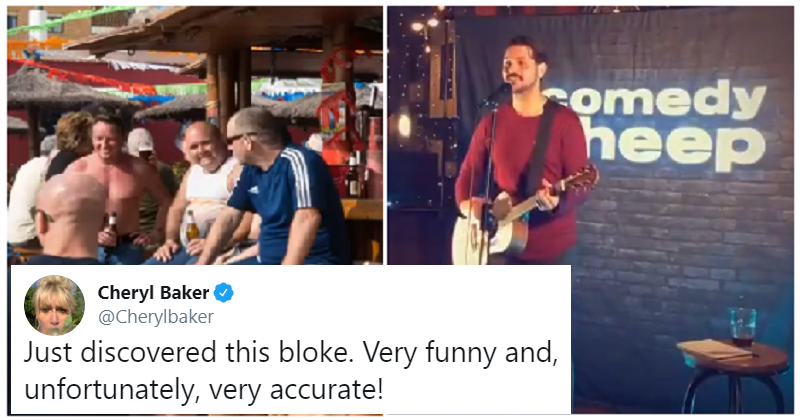"""Even Brits love this hilarious song about why the Spanish """"hate"""" them"""